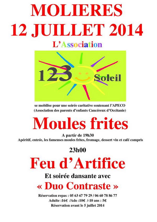 Affiche MOLIERES 12_07_2014