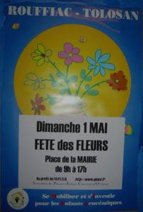 affiche fete des fleurs MIEL 2016