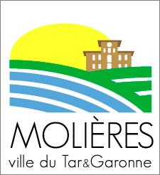 Logo Ville Molières tar-et-garonne (82)