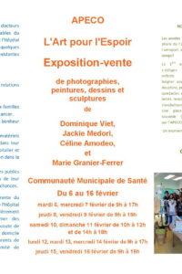 APECO EXPO l'ART pour l'ESPOIR