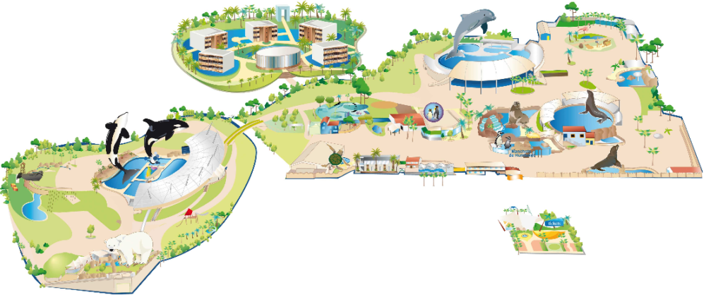 Carte Marineland