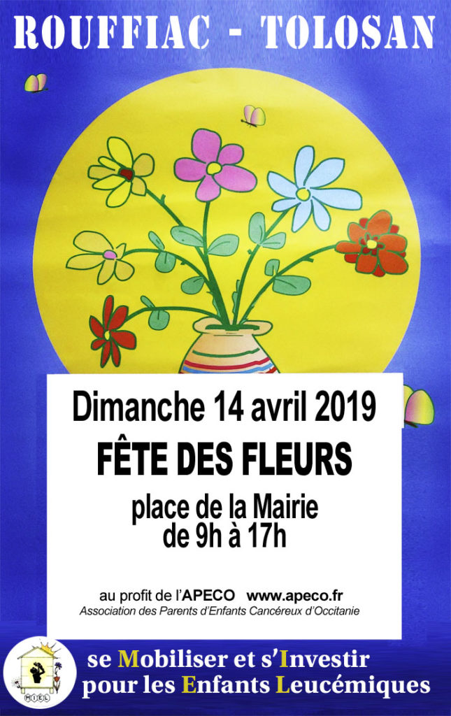 Fête des Fleurs à Rouffiac-Tolosan par l'Association MIEL