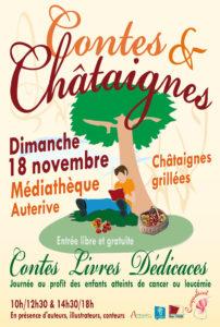 Contes et Chataignes 2018, festival à Auterive, association Coquelicot pour l'APECO
